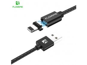 Kabel FLOVEME magnetický s LED a Lightning konektorem 3A pro Apple iPhonea  iPad