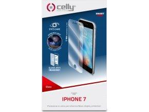 Ochranné tvrzené sklo CELLY Glass s ANTI-BLUE-RAY vrstvou pro Apple iPhone 6/6S/7/8