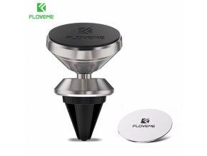 FLOVEME Air Magnetic – univerzální magnetický držák do ventilace auta , silver