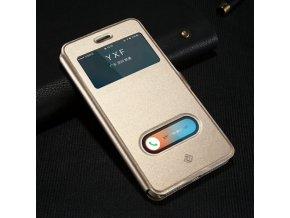 Pouzdro KISSCASE PU Leather pro iPhone 5 / 5S / SE 3
