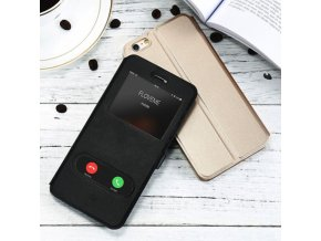 Pouzdro KISSCASE PU Leather pro iPhone 5 / 5S / SE