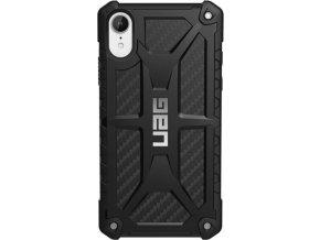 UAG Monarch case Black, carbon - iPhone XR