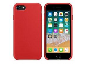 Originální silikonový kryt Clearo pro iPhone 7:8, červený 1