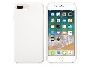 Originální silikonový kryt Clearo pro iPhone 7 Plus/8 Plus, bílý