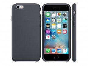 Originální silikonový kryt Clearo pro iPhone 7 Plus/8 Plus, šedý