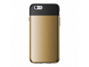 Kryt Lunatik FLAK pro iPhone 6/6S - černý/zlatý