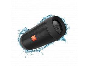 JBL Charge 2+ Bluetooth reproduktor, černá