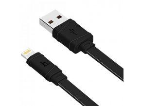 Kabel HOCO USB Lightning X5 Bamboo pro iPhone a iPad, 1m - černý