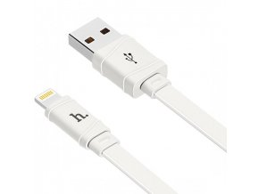 hoco X5 flat kabel iphone usb to lightning bily