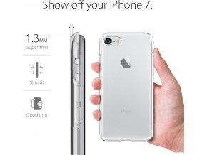 Kryt Spigen Liquid, crystal pro iPhone 7 4
