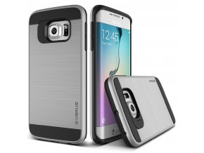 Kryt Verus Verge pro Samsung Galaxy S6 edge stříbrný
