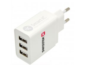 swissten adapter 3.1A, 3x USB do site