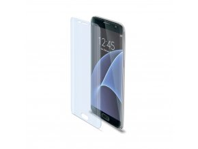 Prémiová ochranná tvrzená fólie na displej CELLY pro Samsung Galaxy S7, lesklá
