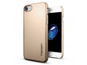 Kryt Spigen Thin Fit, champagne gold pro iPhone 7