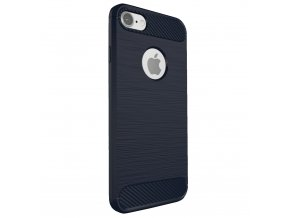 Kryt Clearo Carbon Armor, Blue - pro iPhone 6/6S