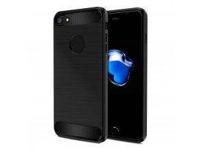 Kryt Clearo Carbon Armor, Black - pro iPhone 7 Plus/8 Plus