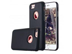 Kryt Clearo ANTI GRAVITY, Black - pro iPhone 7/8