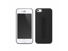 Kryt LAB.C Cable Case Lightning kryt pro iPhone 5/5S - černý s lightning kabelem + fólie zdarma