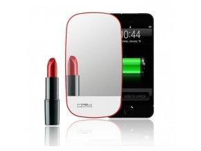 Externí baterie MiPow Mirror Power 3000 USB - červené