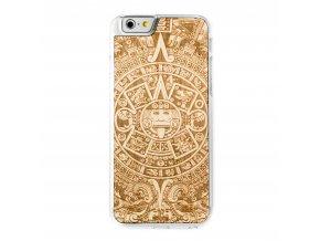 Dřevěný kryt Smartwoods Aztec Calendar Clear pro iPhone 6/6S