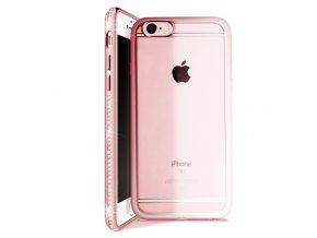 Kryt Crystal pro iPhone 5/5S/SE - Rose