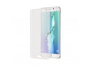 Prémiová ochranná tvrzená fólie displeje CELLY pro Samsung Galaxy S6 Edge Plus, plná zaoblená, lesklá