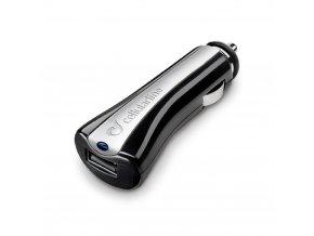 Autonabíječka CellularLine s USB výstupem, černá