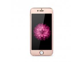 Tvrzené sklo 3D Glass - Rose pro iPhone 6/6S (přední+zadní) - Clearo