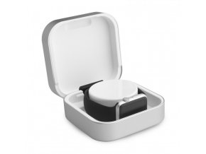 amber case silver front