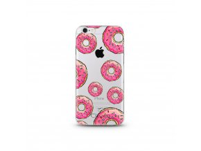 Kryt Clearo Luxury Donuts pro iPhone 6/6S
