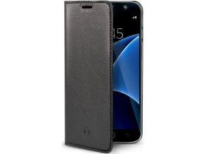 Ultra tenké pouzdro typu kniha CELLY Air pro Samsung Galaxy S7
