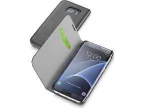 Pouzdro typu kniha CellularLine Book Essential pro Samsung Galaxy S7 EDGE