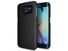 Spigen Thin Fit, black Galaxy S6 edge+