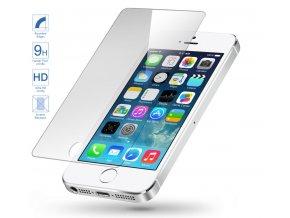 Tvrzené sklo pro ochranu displeje pro iPhone 5/5C/5S/SE - Clearo