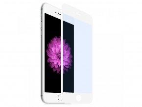 eSTUFF Apple iPhone 6/6S Fullcover, White – tvrzené 3D sklo na celý displej