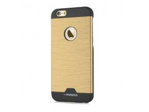 Kryt Motomo Brushed Steel pro iPhone 5/5S/SE – zlatý