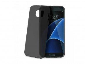Ultra tenký kryt TPU CELLY Frost pro Samsung Galaxy S6 Edge, 0,29 mm, černé