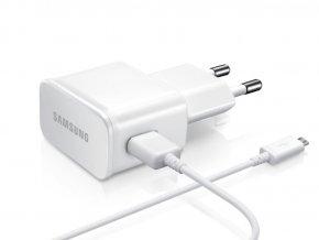Originální síťový adaptér 2A Samsung + Originální datový kabel Samsung, nabíjecí sada