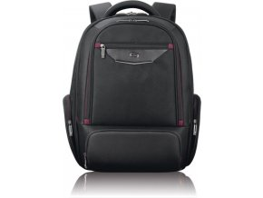 """Batoh Solo Executive Backpack, black/red pro laptop 17.3"""""""