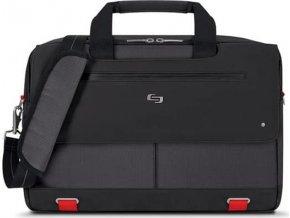 """Taška/brašna Mission Briefcase, black/red od Solo pro 15.6"""" MacBook/Laptop"""