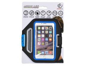 """Sportovní pouzdro Rebeltec Armband Active - pro mobilní telefon univerzální vel. (5,5"""") - modré"""