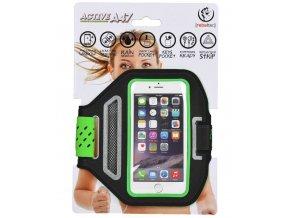 """Sportovní pouzdro Rebeltec Armband Active -  pro mobilní telefon univerzální vel. (4.7"""")- zelené"""