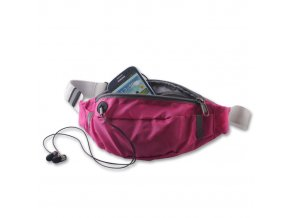 """Sportovní pouzdro / ledvinka na pás pro mobilní telefon univerzální (4.7"""") Waist Case Active, růžové"""