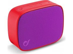 Bezdrátový bluetooth reproduktor Audio Cellularline Fizzy, růžovo-fialový