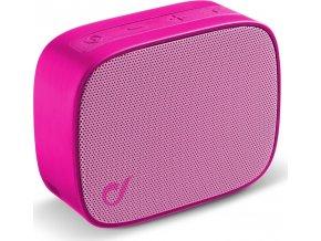 Bezdrátový reproduktor Audio Cellularline Fizzy, růžový
