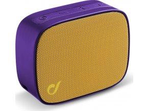 Bezdrátový bluetooth reproduktor Audio Cellularline Fizzy, fialovo-žlutý