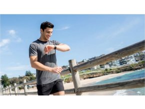 Bluetooth fitness náramek CellularLine EASYFIT TOUCH TALK s odnímatelným headsetem, černý