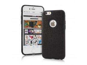 Kryt HOCO Ultra-thin Leather TPU pro Apple iPhone 6/6S, černý