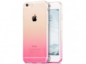 Kryt Clearo Gradient pro Apple iPhone 5/5S/SE, růžový