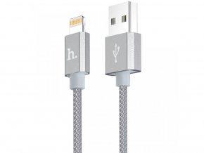 Certifikovaný MFI kabel lightning HOCO pro iPhone a iPad – UPF01 GREY, 1,2m